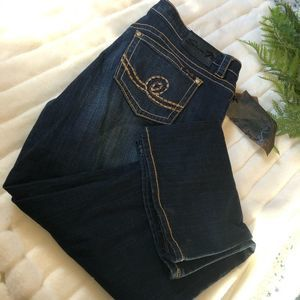 Seven7 NWT Bootcut Telurid Blue Jeans
